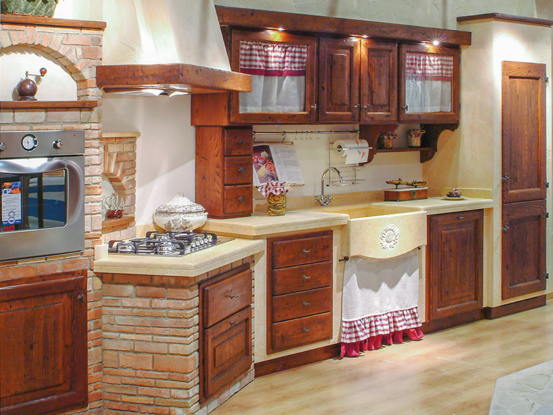 Beautiful Cucine In Muratura Stile Rustico Images - Home Design ...