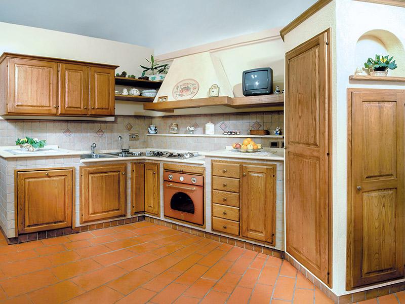 Glicine Cucina Rustica In Muratura Caminetti Carfagna