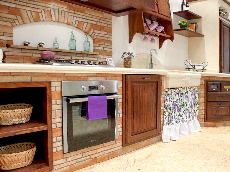Caminetti carfagna cucine rustiche cucina vischio - Camini da cucina ...